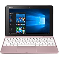 "Asus Transformer T101HA-GR040T Notebook Convertibile, Display da 10.1"", Processore Intel Atom Z8350 Quad Core, 1.44 GHz, eMMC da 64 GB, 4 GB di RAM, Oro Rosa"
