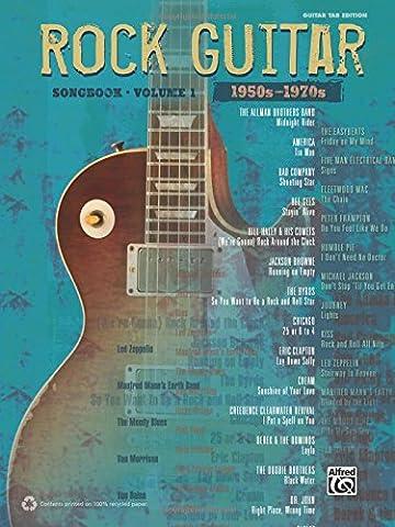 The Rock Guitar Songbook, Volume 1: 1950s-1970s (Guitar Tab