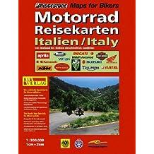 RV Motorrad Reisekarte Italien 1 : 300 000