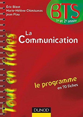 Télécharger en ligne La communication en 70 fiches (BTS Communication t. 1) pdf, epub ebook