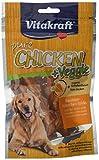 Vitakraft Chicken Veggie, Karottenstick + Hühnchen, 6er Pack (6 x 80 g)