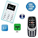 #9: Captcha Mi Redmi Note 4G Compatible Certified M5 Mini Card Cell Phones GSM Ultra Thin 320mah With A3310 Camera Multimedia Dual Sim Mobile Phone (1 Year Warranty)