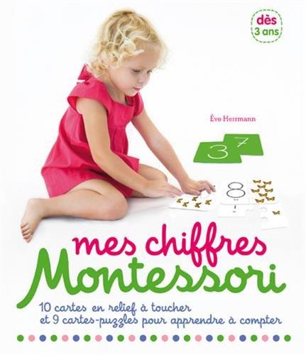 Mes chiffres rugueux Montessori - Dès 3 ans