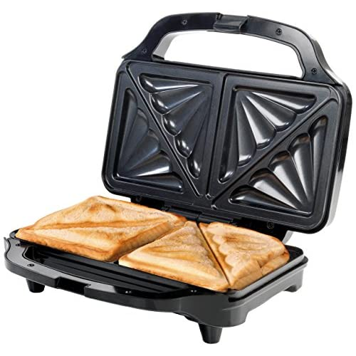 511osbFbAXL. SS500  - Giles & Posner EK2017SGMOB XL Deep Fill Sandwich Toaster Press, Two Portion, 900 W