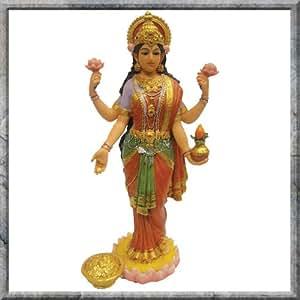 Déesse Hindoue ~~Lakshmi Figurine Déesse de la richesse