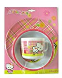 Assiette Bol et Mug Hello Kitty en plastique Vaisselle pour enfant en mélamine