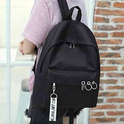 Schultasche weiblichen koreanischen College Junior High School Student High School Student Tasche weiblichen Harajuku kleine frische Umhängetasche Tutorial Rucksack Freizeit Reisetasche - Koreanischen Tasche