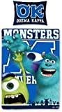 Character World 135 x 200 cm Disney Monsters University Single Panel Duvet Set, Multi-Colour