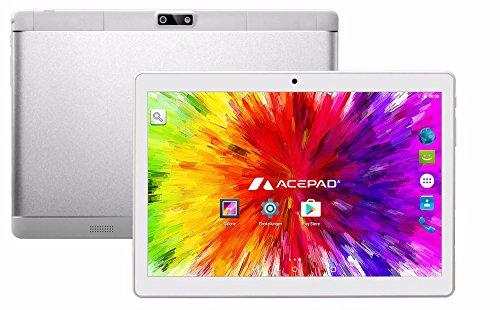 ACEPAD A96 10 Zoll (9.6) Tablet PC 3G (Dual-SIM) 48GB IPS HD 1280×800 Quad Core Android 5.1 WIFI WLAN USB SD (Weiß) - 2
