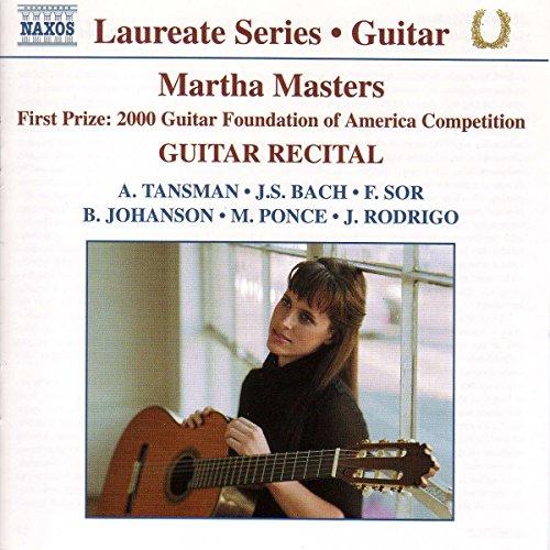 Gitarre Master (Laureate Series - Martha Masters (Guitar Recital))
