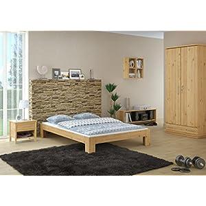 Jugendbett 140x200 holz  Bett 140×200 Holz Massiv | Deine-Wohnideen.de