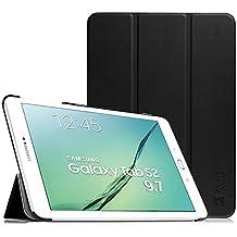 Fintie Samsung Galaxy Tab S2 9.7 Funda - Ultra Slim Smart Case Funda Carcasa con Stand Función y Auto-Sueño / Estelar para Samsung Galaxy Tab S2 9.7 pulgadas SM-T810N SM-T815 (Negro)