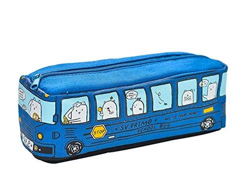 Fablcrew Creative Bus Trousse Dessin animé Voiture de...