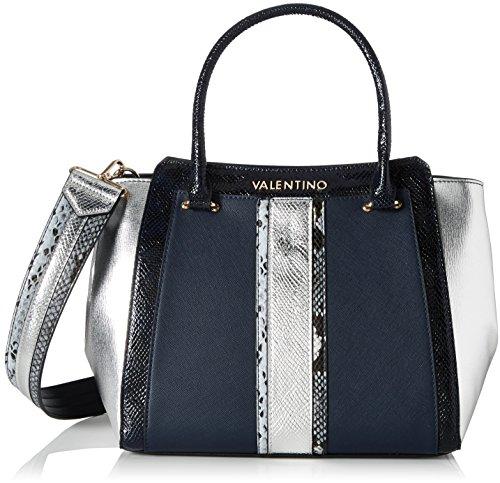 Mario Valentino Valentino by Damen Wasabi Business Tasche, Mehrfarbig (Notte/Multi), 17.0x26.5x30.0 cm - Print-tasche