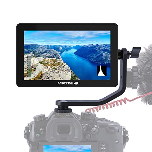 ANDYCINE A6 Plus 12,7 cm (5 Zoll) Touch-IPS 1920 x 1080 4K HDMI Kamera-Monitor 3D Lut Kamera Video-Feld-Monitor