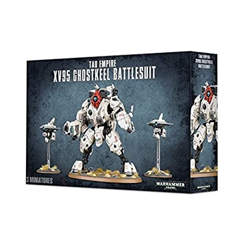 Tau Empire XV95 Ghostkeel Battlesuit Sternenreich der Tau Warhammer 40.000 40k (Warhammer 40k Figuren)