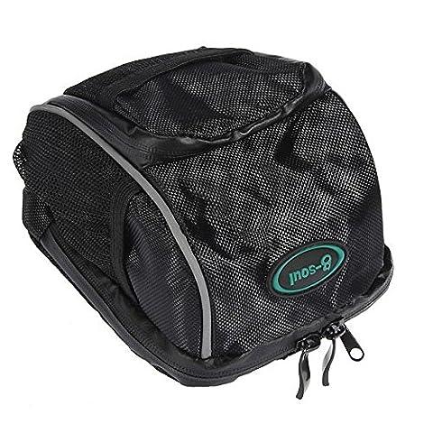 Inovey Fahrrad Fahrrad Lenker Stab Tasche Vorderer Rahmen Pannier Tube Rack Basket