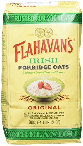 Flahavan's Irish Gachas de Avena - Paquete de 12 x 500 gr - Total: 6000 gr