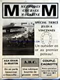 methodes courses magazine du 30 08 1978 special tierce a vincennes couple cagnotte aga khan st martin deauville