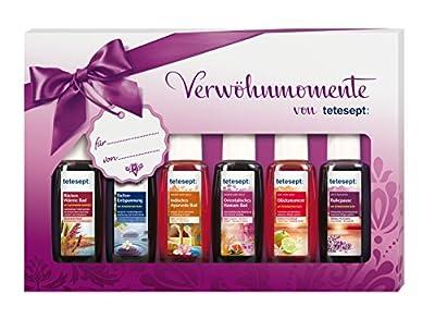 Tetesept Bäder Geschenkset Verwöhnmomente, 6er Pack (6 x 20 ml)