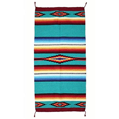 Indianer- & Western-Teppich / Läufer - Taos Pueblo, Style I (Route 66-teppich)