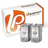 Bubprint 2 Druckerpatronen kompatibel für Canon PG-40 CL-41 für Pixma IP1200 IP1600 IP2200 IP2600 MP140 MP150 MP160 MP170 MP180 MP190 MP210 BK Color
