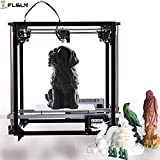 Best 3d Printers - FLSUN 3d Printer Square DIY Kit Touch Screen Review