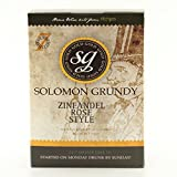 Home Made Wine Kit - Solomon Grundy Gold Zinfandel Rosé - 30 Bottles