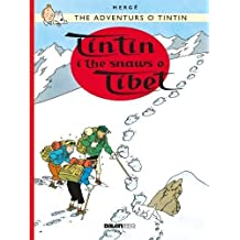 Tintin: Tintin i the Snaws o Tibet (Scots) (Tintin in Scots)