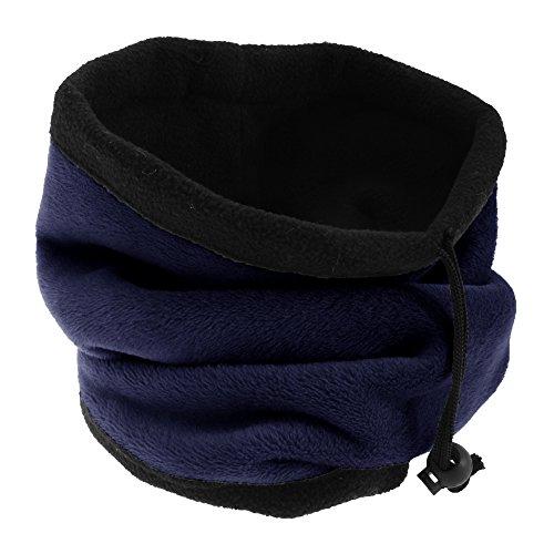Floso - Echarpe Tour de Cou Multifonction - Femme (Taille Unique) (Bleu Marine)
