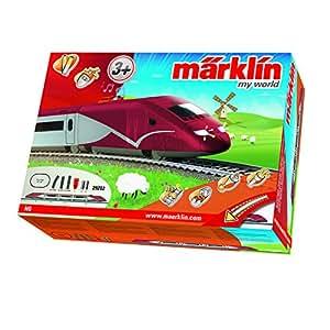 Märklin 29202 - Startpackung Belgischer Hochgeschwindigkeitszug mit Batterieantrieb und Magnetkupplungen