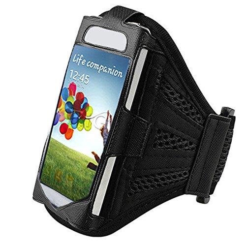 High Value Siebe Schwarzes laufender Armbinde-Kasten-Abdeckung für Samsung Galaxy S4 SIV i9500