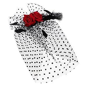 Fenteer Vantage Hochzeit Braut Stirnband 1920er Jahre Große Gatsby Party Haar Accessoire