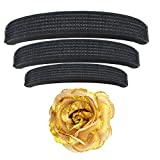 Majik Rose Clip with Hair Puff (Set Of 4 pcs) Hair Accessories