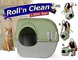 Katzentoilette Roll n Clean braun/grau-1PACK