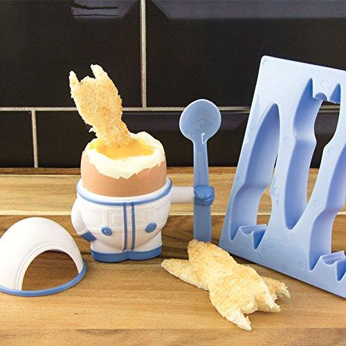 Paladone Eggstronaut - Portauovo e Stampo per Toast, Motivo: Astronauta preisvergleich