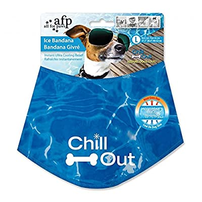 All For Paws Chill Out Ice Bandana by Amazon.com, LLC *** KEEP PORules ACTIVE ***