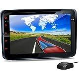 VW-08 Autoradio für Volkswagen VW / SKODA / SEAT + Moniceiver / Naviceiver mit GPS Navigation + NAVI Software inkl. Europa Karten (38 Länder) + Bluetooth Freisprechfunktion + 20 cm / 8 Zoll Touchscreen Display + Micro-SD-Kartenslot + 2x USB Anschluss (hinten mit Verlängerung) + CAN-BUS + Dual Zone Betrieb + Anschlüsse für Rückfahrkamera, Subwoofer + Doppel DIN / 2 DIN Standard Einbaugröße inkl. GPS Antenne