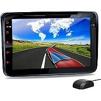 XOMAX XM-08G Autoradio Passend für Volkswagen VW I Skoda | Seat I mit GPS Navigation I NAVI Software I Bluetooth Freisprecheinrichtung I 20 cm 8 Zoll Touchscreen Bildschirm DVD CD SD USB 2DIN