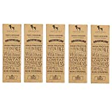 #9: HUFT Yak Chew Bone for Dogs - Yak Milk Bars for Dogs - Chhurpi Dog Food Treats (Yak Milk Chews) - Extra Large - Healthy Alternative to Raw Hide (Pack of 5)