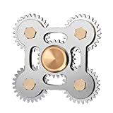 AUKWING Fidget Hand Spinner Toy, Stress Reducer High Speed Ceramic Bearing Fidget Finger Toy Rotate 3-6 minutes for ADD ADHD Anxiety Autism And Stress Relief Adult Children, Office Desk Gadget