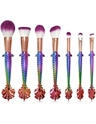 [Sponsorisé]Oshide 7Pcs Pinceaux Maquillage Cosmétique Professionnel Cosmétique Brush Beauté Maquillage Brosse Makeup Brushes...