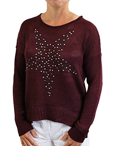 ONLY -  Maglione  - Maniche lunghe  - Donna Zinfandel X-Small