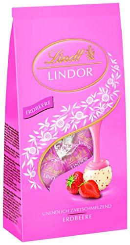 Lindor Beutel Erdbeer-Sahne, 2er Pack (2 x 137 g)