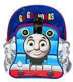 Zaino tradizionale con tasca frontale, per bambini, motivo: Il trenino Thomas