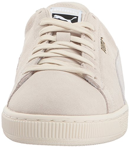Puma Suede Classic+, Chaussons Sneaker Adulte Mixte Birch/Puma White