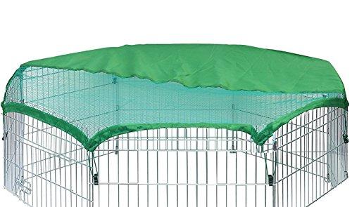 VivaPet Net Cover Schutzabdeckung Kleine Kaninchen/Meerschweinchen Käfig (86,4cm, 8-seitige, achteckig)