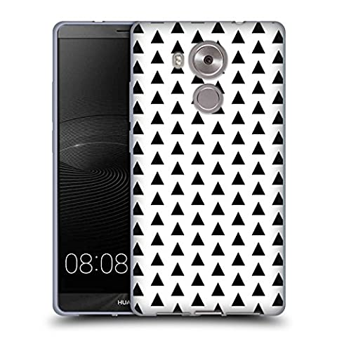 Official Charlotte Winter Tri Black & White Soft Gel Case for Huawei Mate 8 / Ascend Mate8