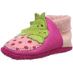 Pololo Dino, Zapatillas de Estar por Casa Unisex Niños, Rosa (Pink 216), 20/21 EU