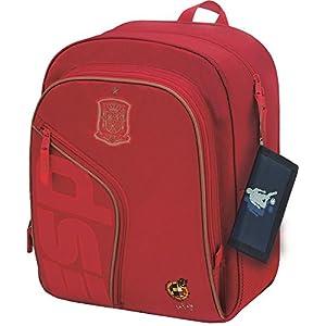 Selección Española La Roja Mochila Tipo Casual, 39 cm, Rojo